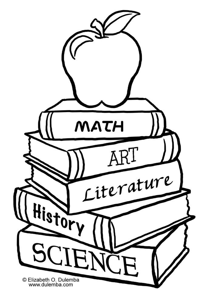 School Coloring Pages 3