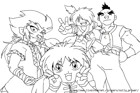 Beyblade Coloring Pages 2011-09-03   Coloring Page