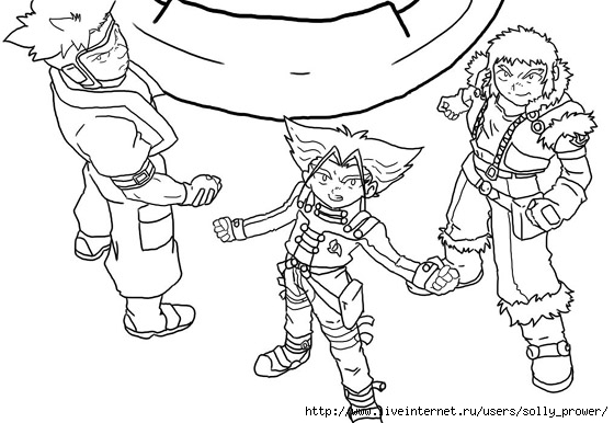 beyblade coloring pages 9 - Beyblade Coloring Pages