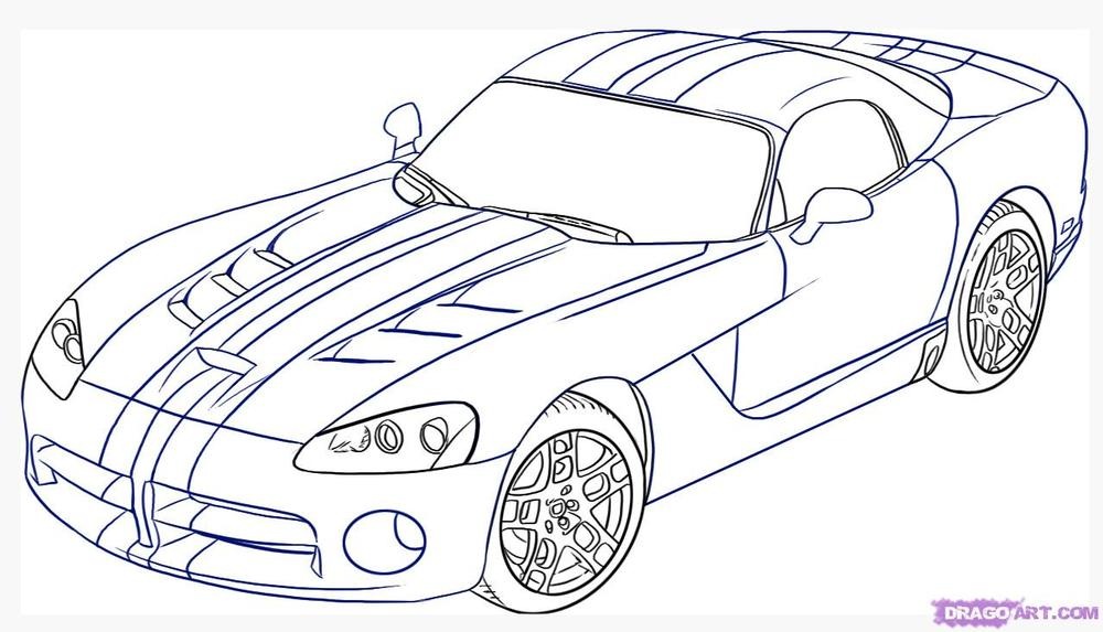 Dodge Coloring Pages 10