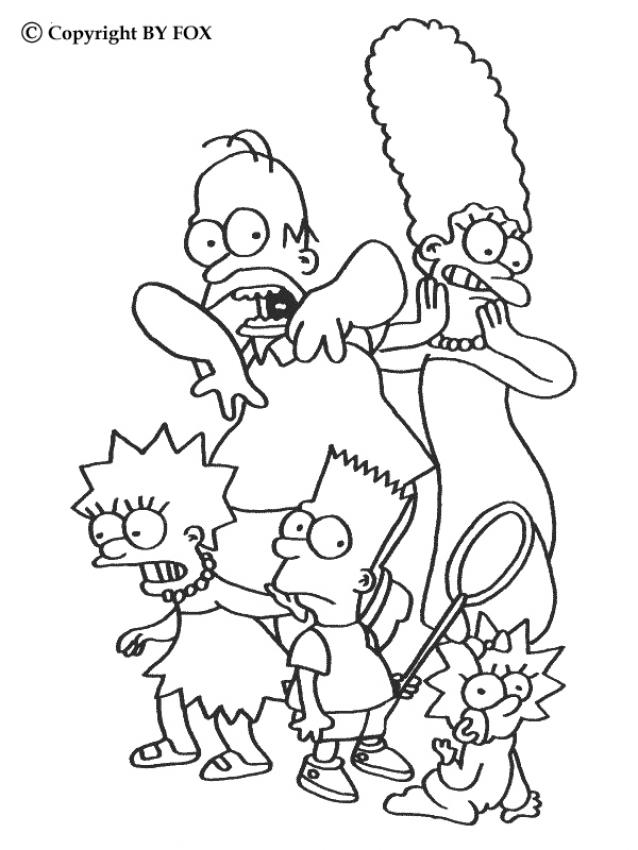 simpsons coloring pages 2011 09 09 coloring page