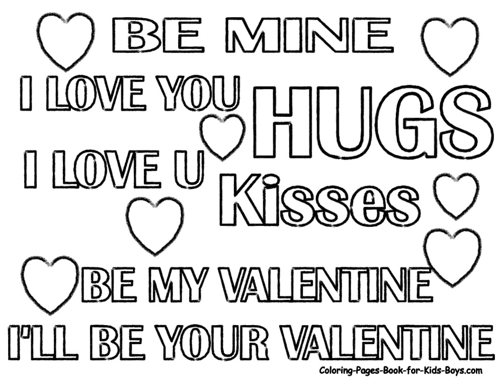 Valentine Coloring Pages 2011-09-25 | Coloring Page