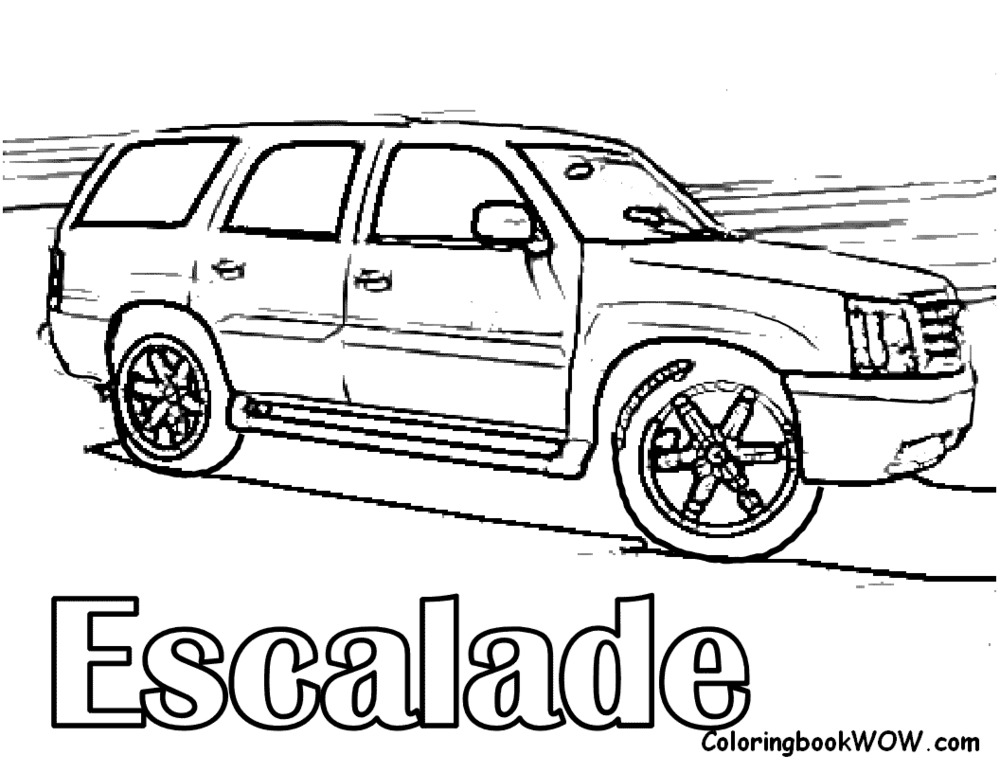 chevy car coloring pages - photo#28