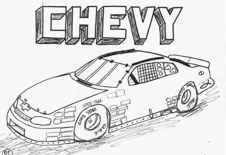 1967 chevy impala coloring coloring pages