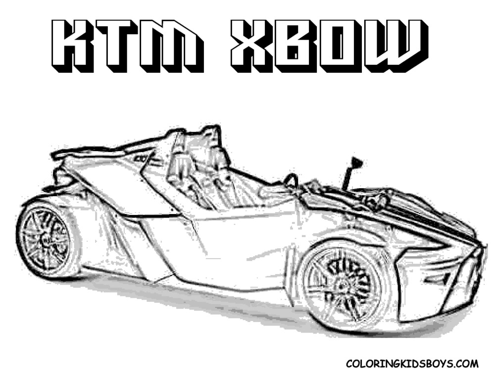 race car coloring page 9