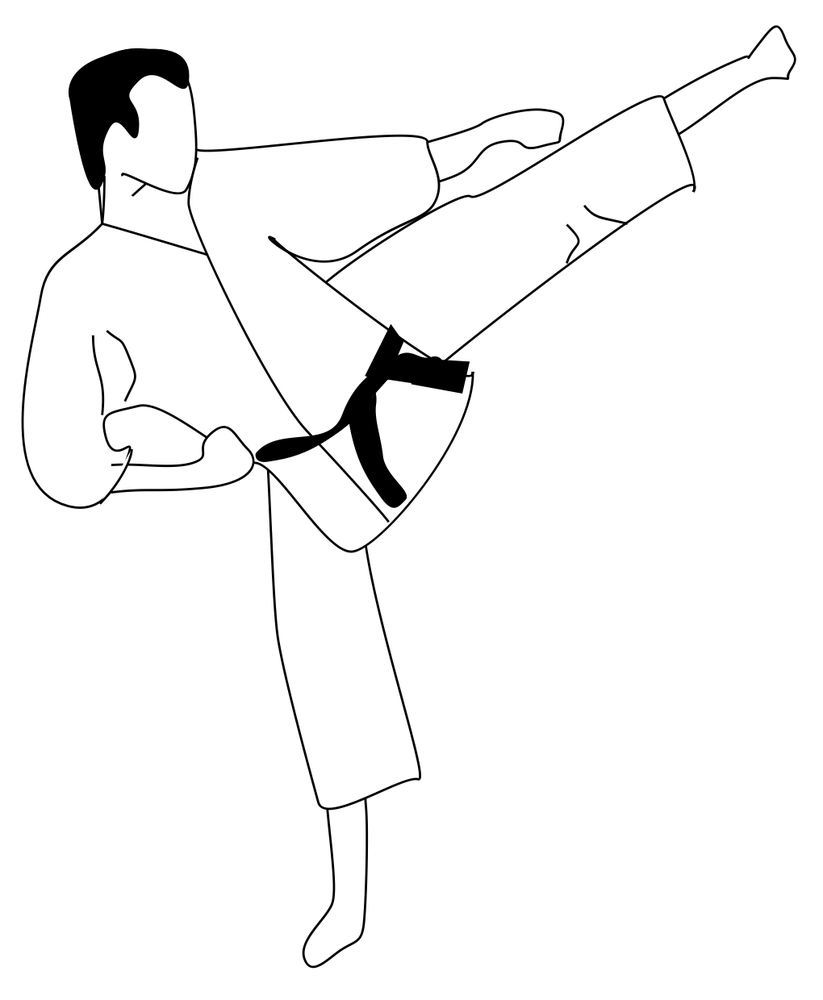 karate coloring pages Karate Coloring Page 2011 11 17 | Coloring Page karate coloring pages