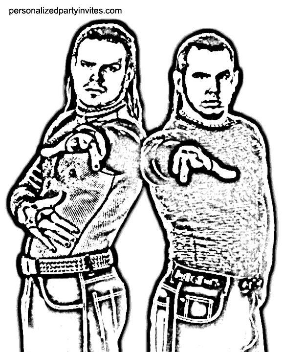 - Wrestling Coloring Page 2011-11-10 Coloring Page