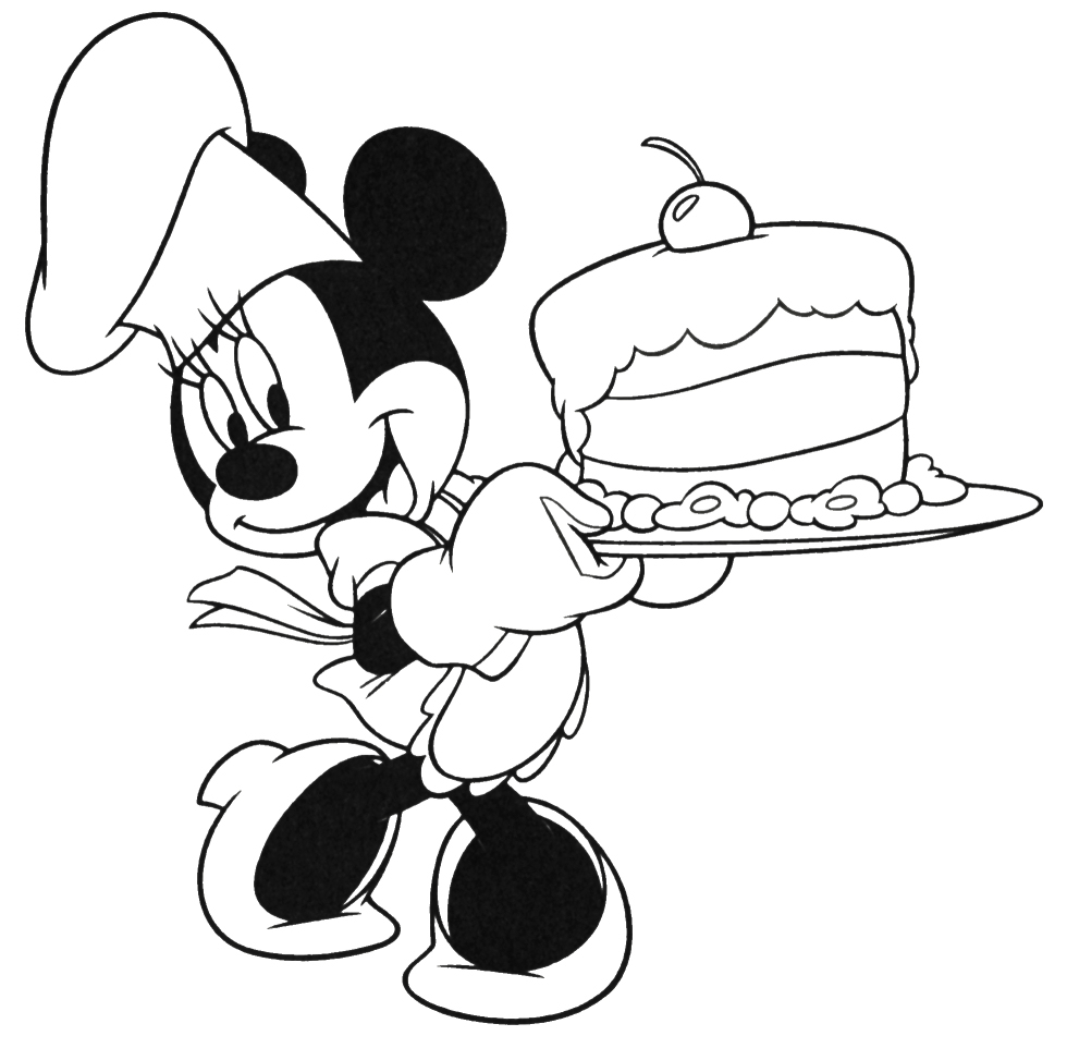 Birthday Cake Coloring Page 2012-01-01 | Coloring Page