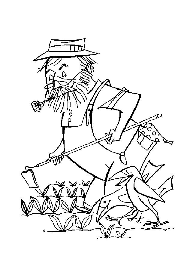 Farmer Coloring Pages Mesmerizing Farmer Coloring Page 20120102  Coloring Page Review