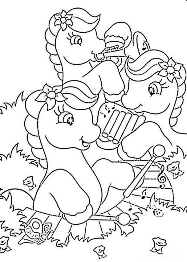 music coloring page 10