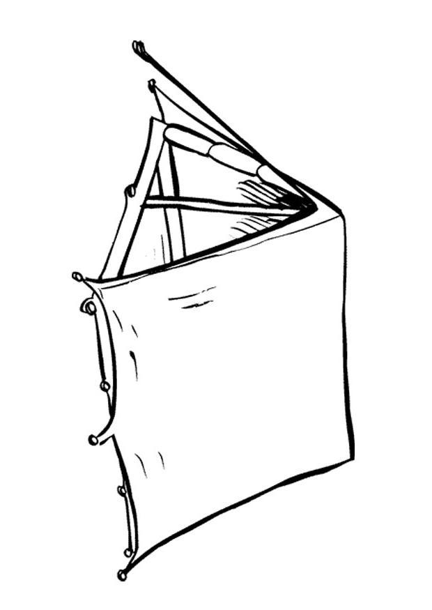 Tent Coloring Page 2012-01-26 | Coloring Page