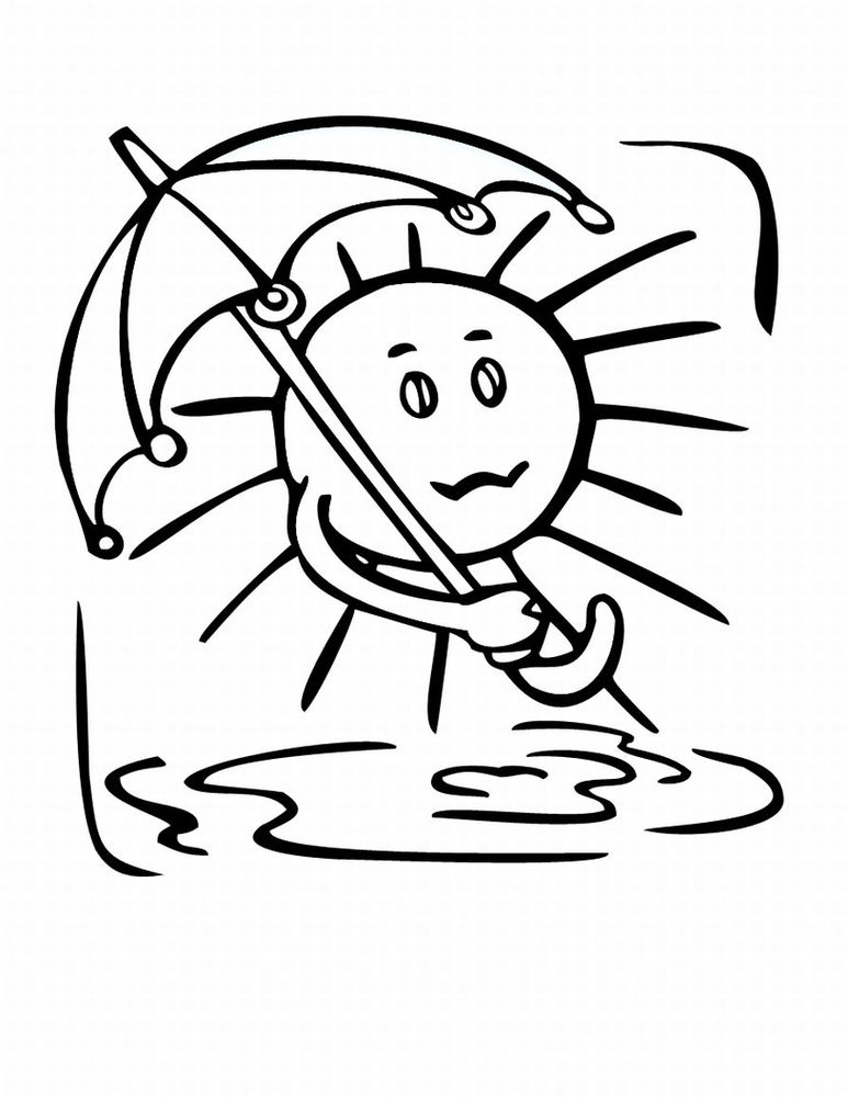 weather coloring page coloring pages of the weather in spanish